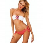Loel Sexy Lady Padded Athletic Bikini Swimsuit Set