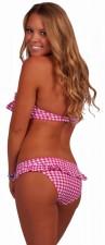 cheap-sexy-bandeau-halter-ruffle-bikini-pink-gingham-