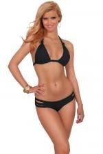 cheap-sexy-triangle-halter-bikini-black