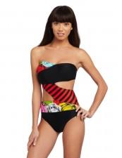 sexy-cheap volcom  waroses bikini onepiece